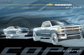 Chevy SEMA Truck Concepts 2013
