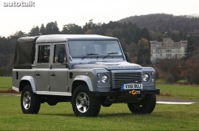 2012 Land Rover Defender 110 Double Cab Pickup