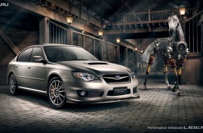 Subaru Liberty GT Wallpaper