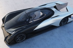Faraday Future FFZERO1 Concept vehicle design