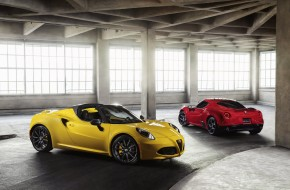 2016 Alfa Romeo 4C Spider and 4C