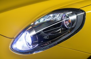 2016 Alfa Romeo 4C Spider Headlight