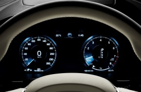 2017 Volvo V90 Driver Display