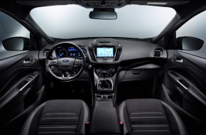 2017 Ford Kuga SUV Interior Dashboard