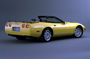 1992 Chevrolet Corvette Coupe Convertible