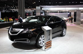 2012 New York International Auto Show Acura Booth