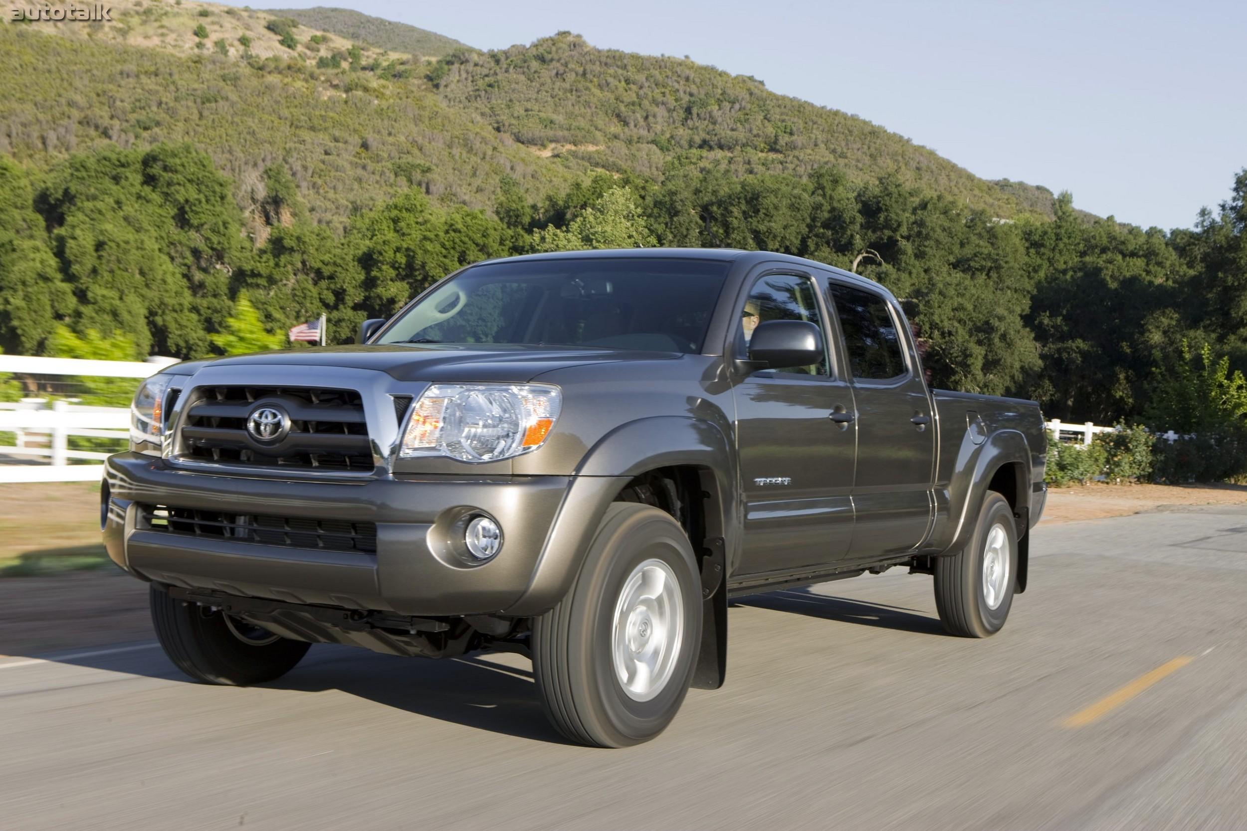 Toyota Такома технические