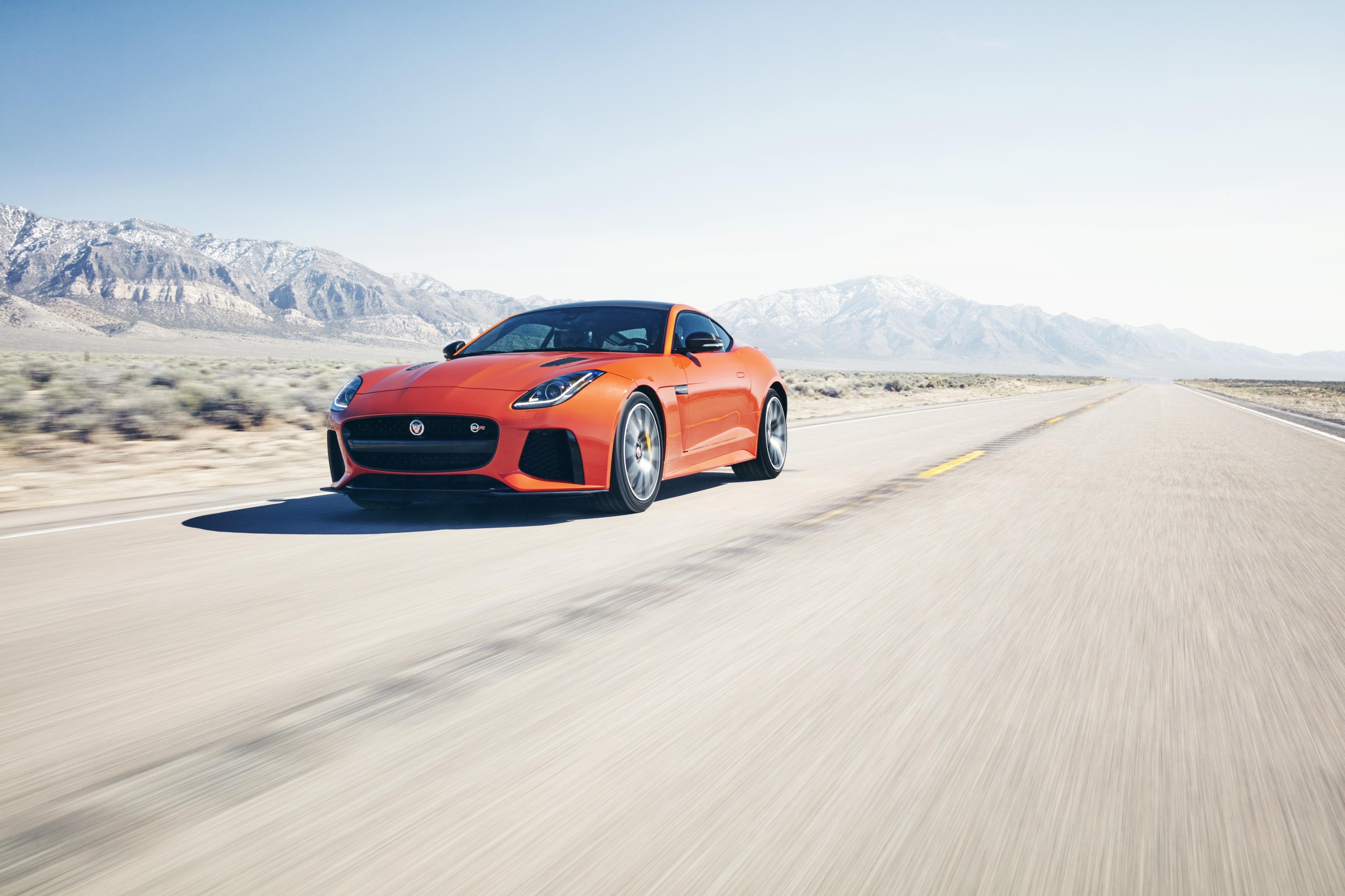 2016 Jaguar F-Type SVR Michelle Rodriguez 200 MPH Attempt