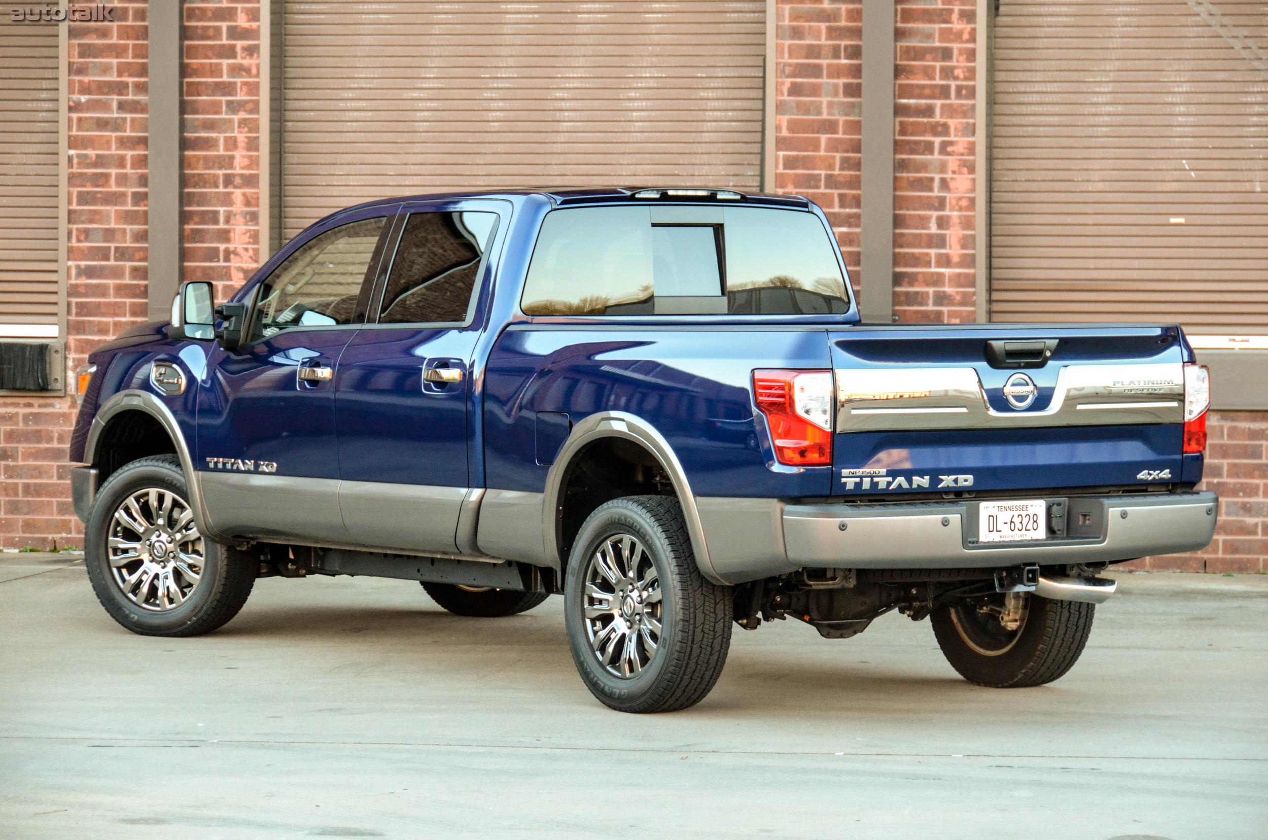 2016 Nissan Titan XD is Autotalk s Truck of the Year • AutoTalk