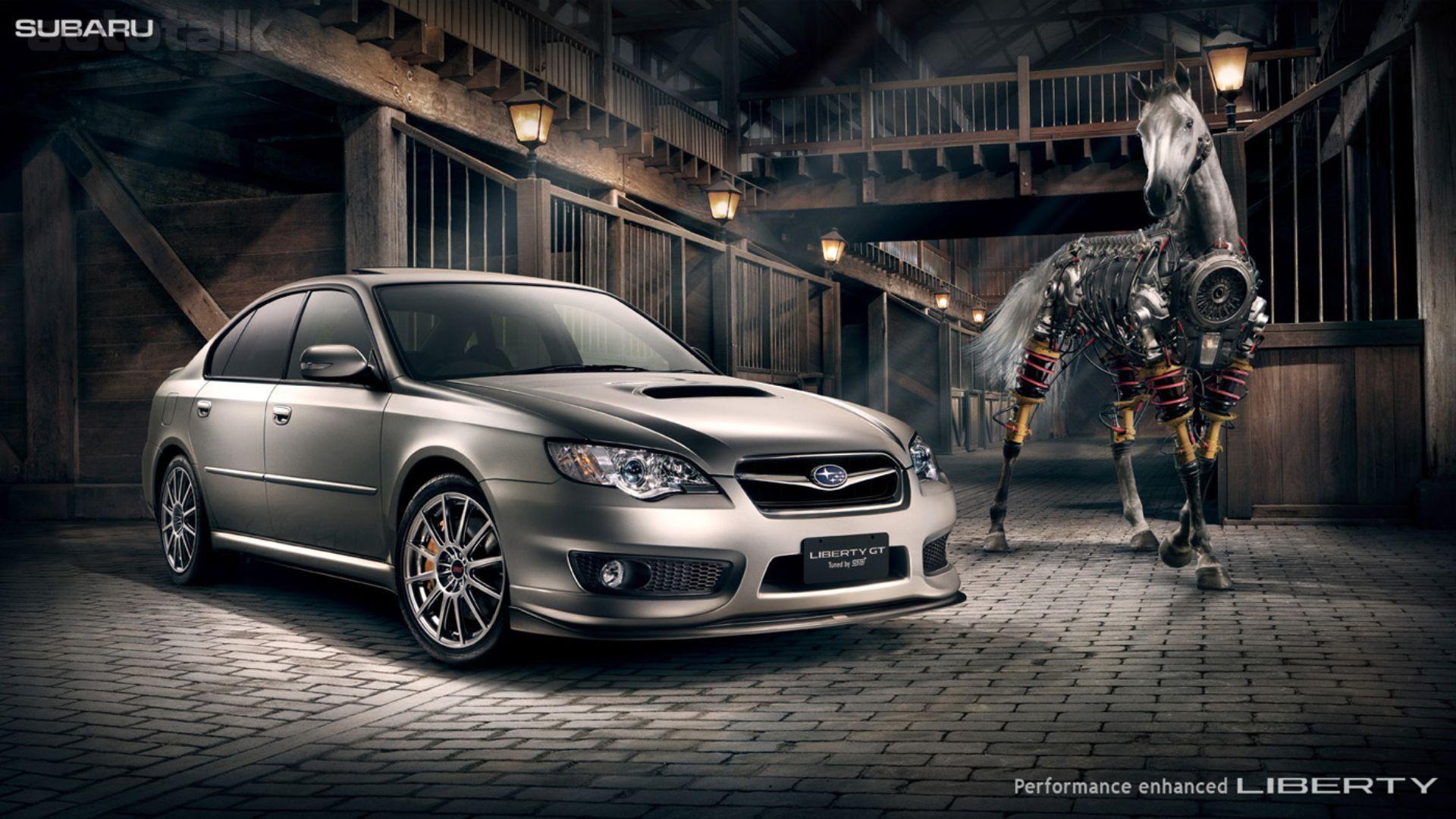 Subaru Liberty GT Wallpaper