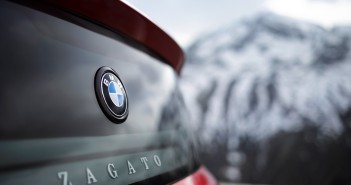 BMW Zagato Coupe Rear Logo