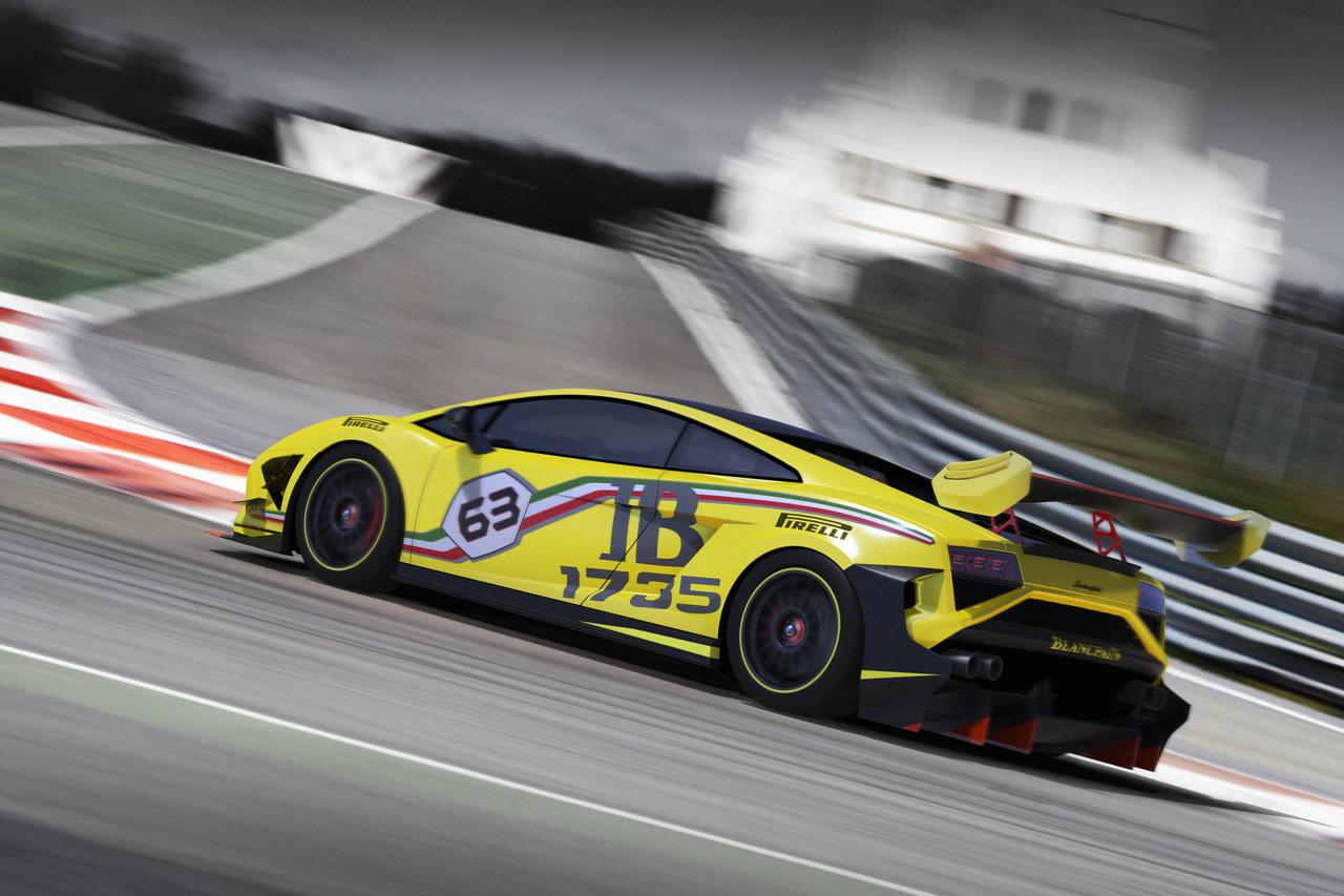 2013 Lamborghini Gallardo Lp570 4 Super Trofeo Because Race Car