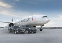 Cadillac partnered with American Airlines