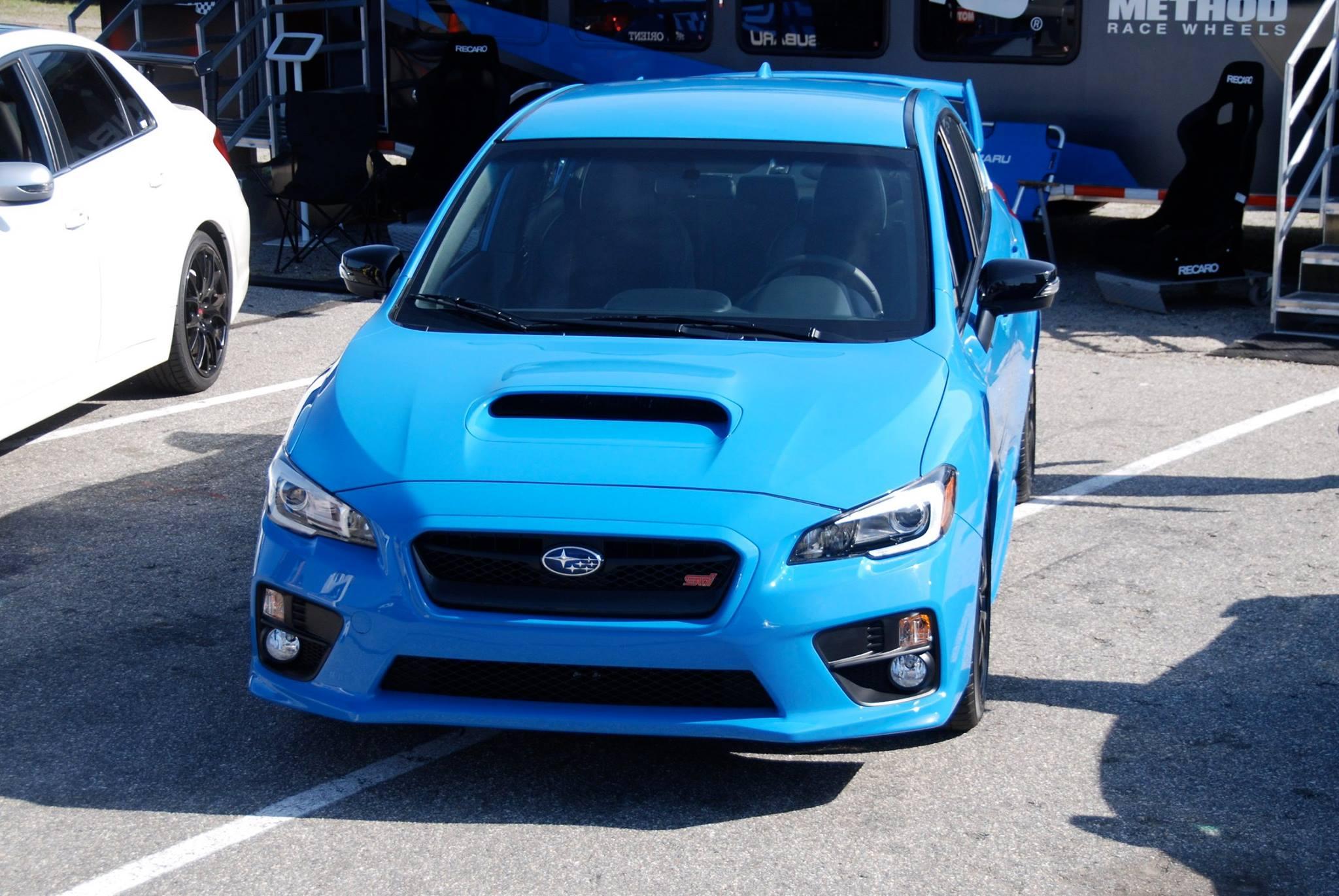 Subaru Wrx Sti Brz Hyper Blue 3