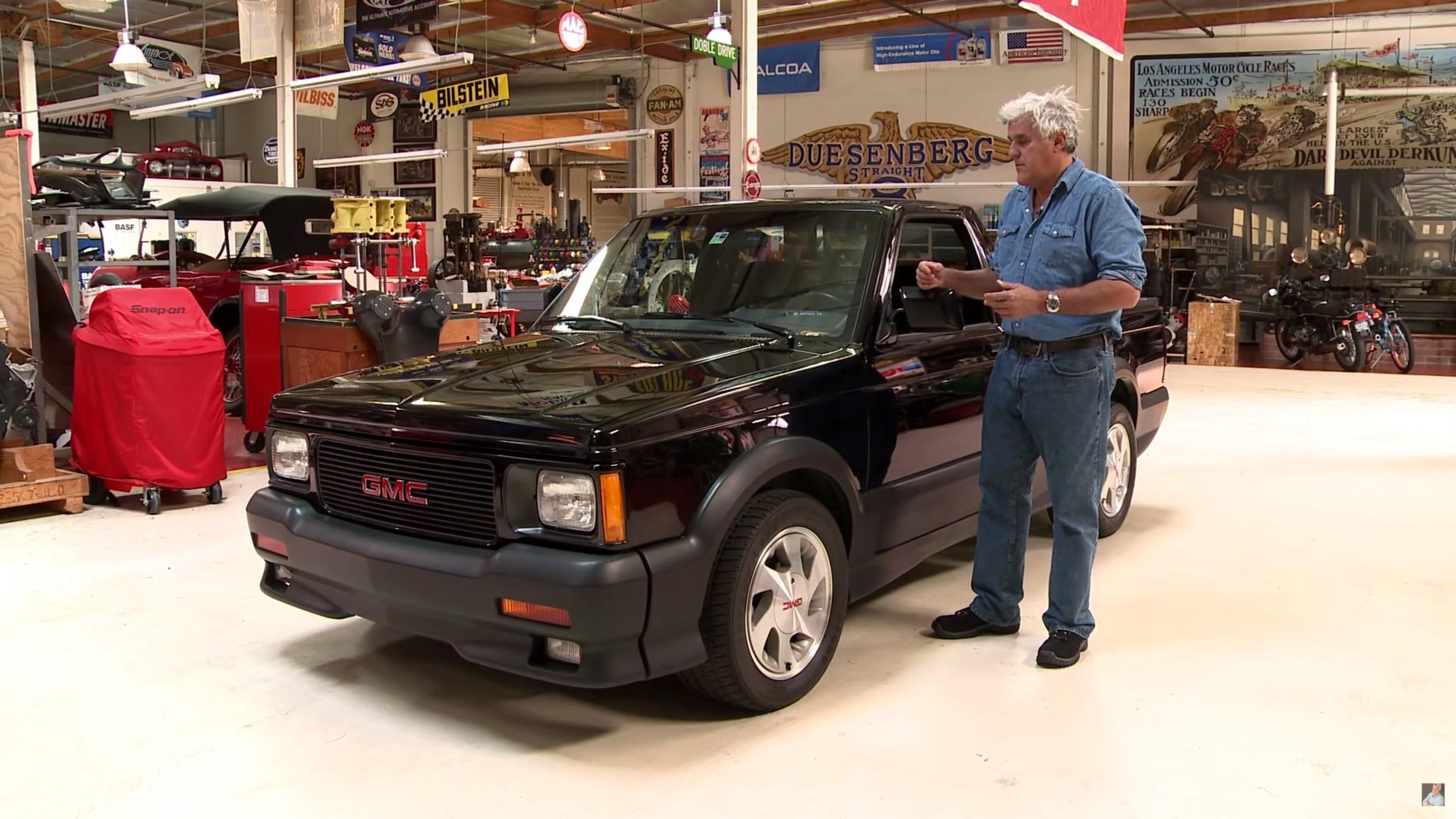 Jay Talks Up His GMC Syclone on Jay Leno's Garage • AutoTalk