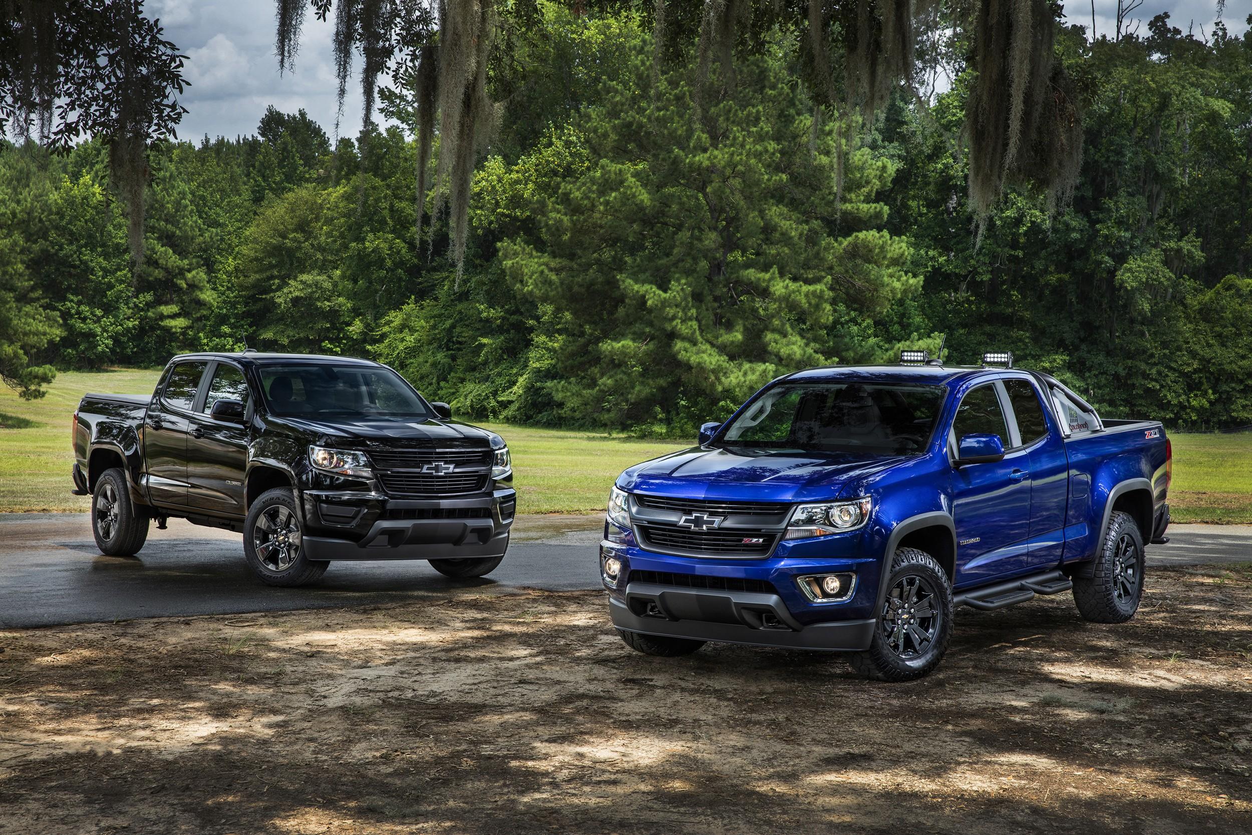 Chevy Announces Two Special Edition Colorado Models • AutoTalk