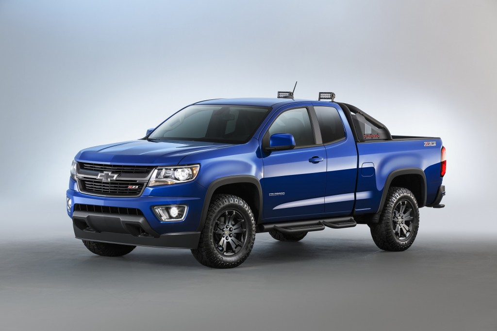 Chevrolet Special Edition Trucks >> Chevy Announces Two Special Edition Colorado Models • AutoTalk
