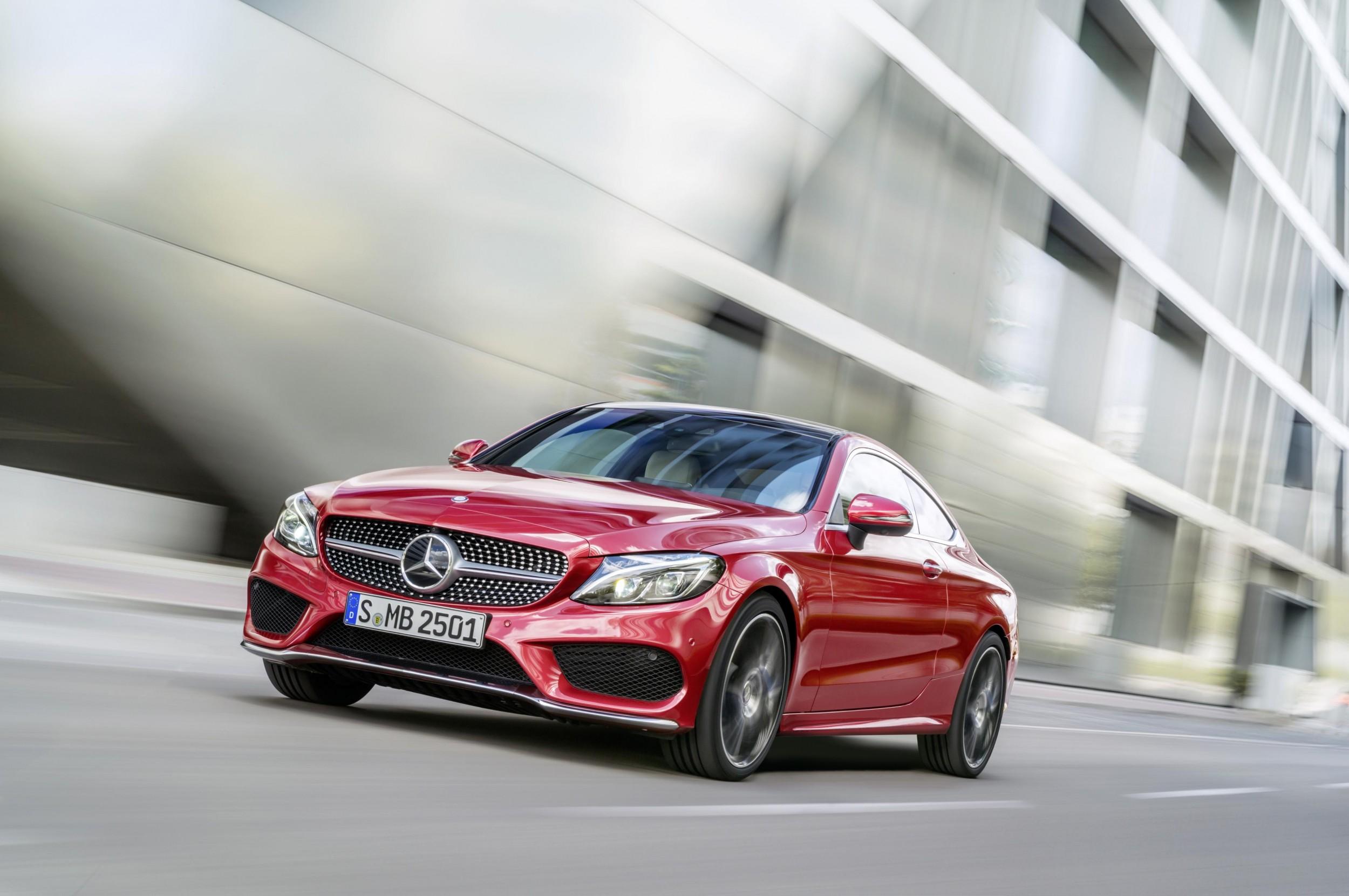 2016 mercedes benz c class coupe revealed autotalk for Mercedes benz c class coupe 2016