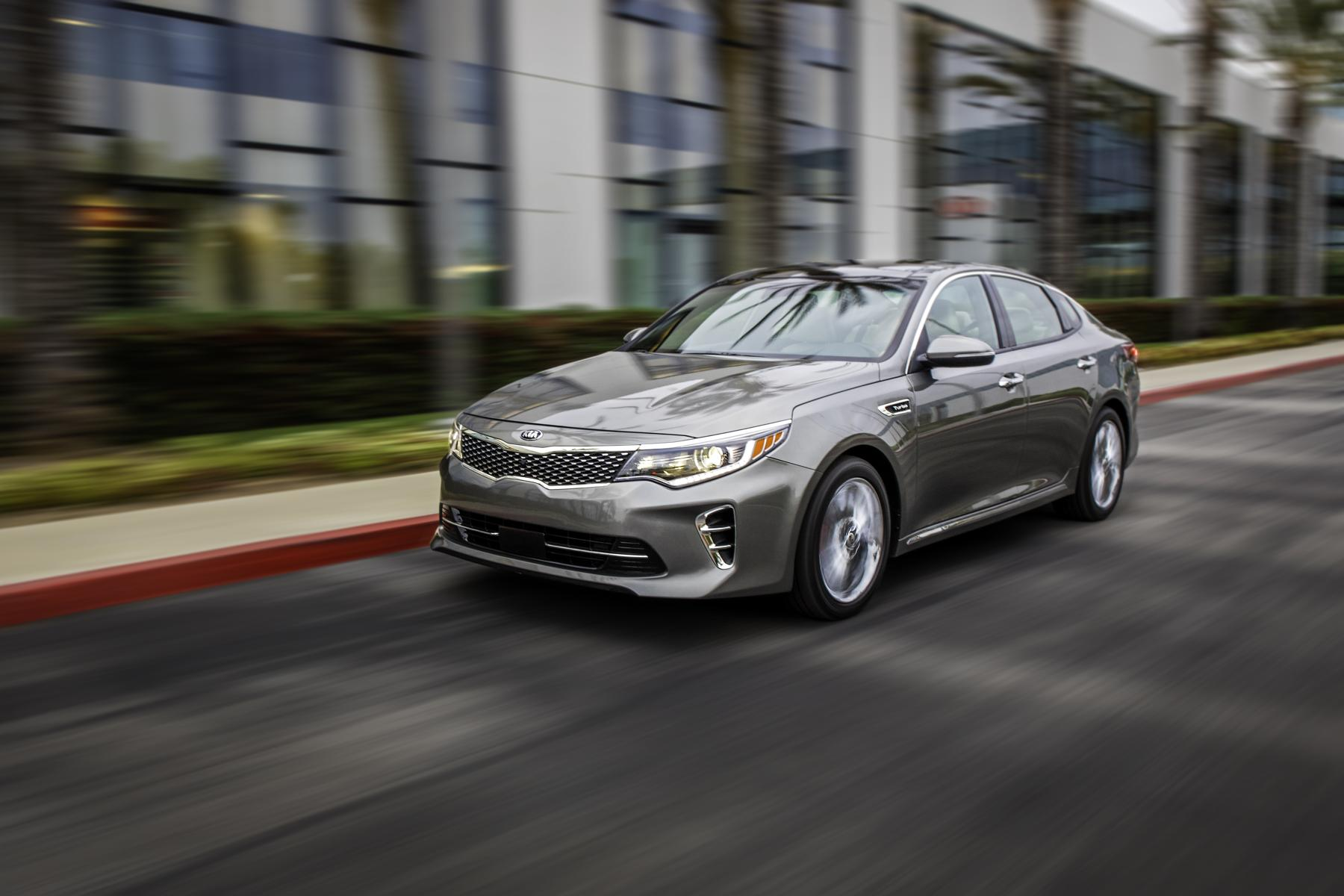 new 2016 kia optima increases refinement and adds new. Black Bedroom Furniture Sets. Home Design Ideas