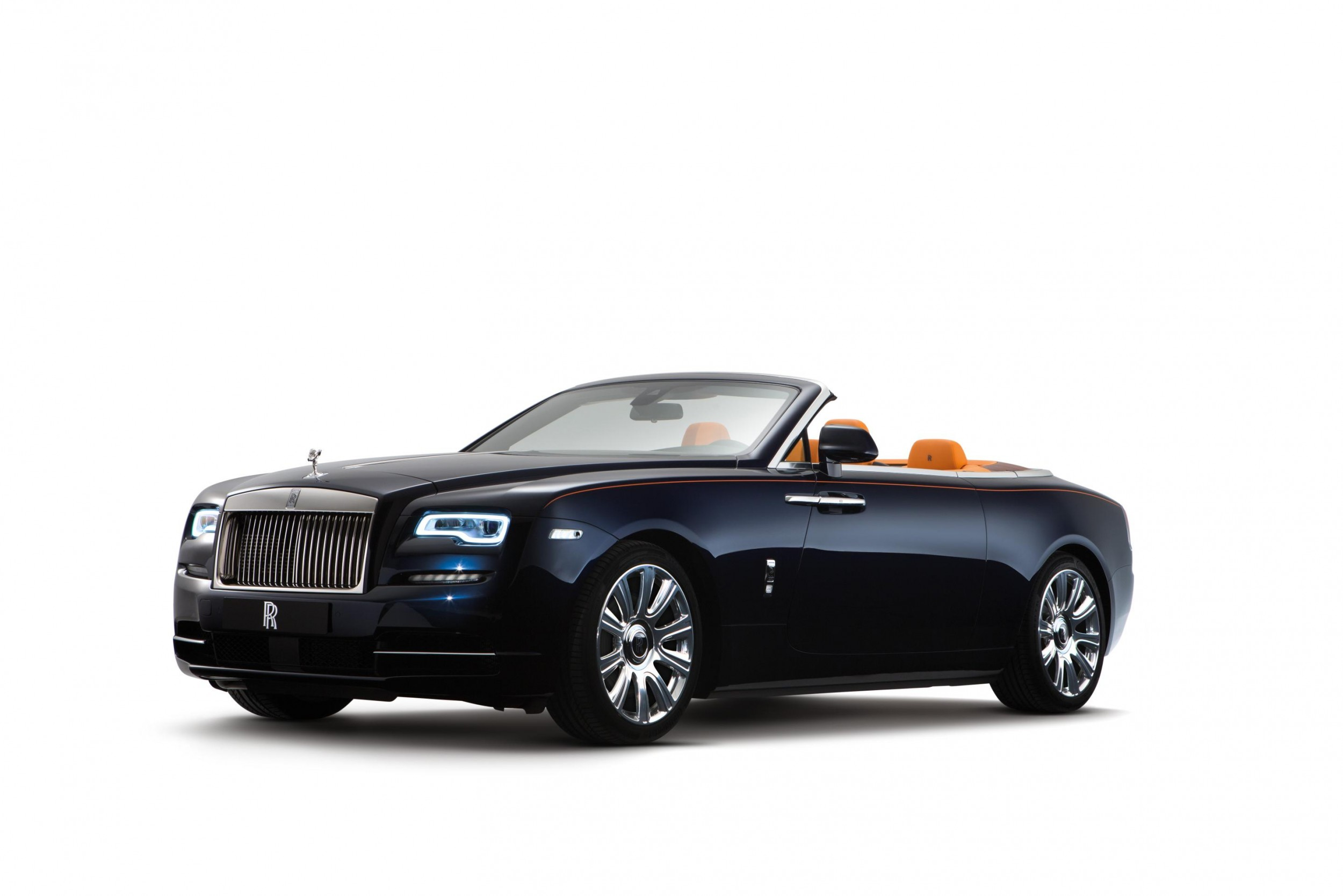 Rolls Royce Reveals New Convertible Model 2016 Rolls Royce Dawn