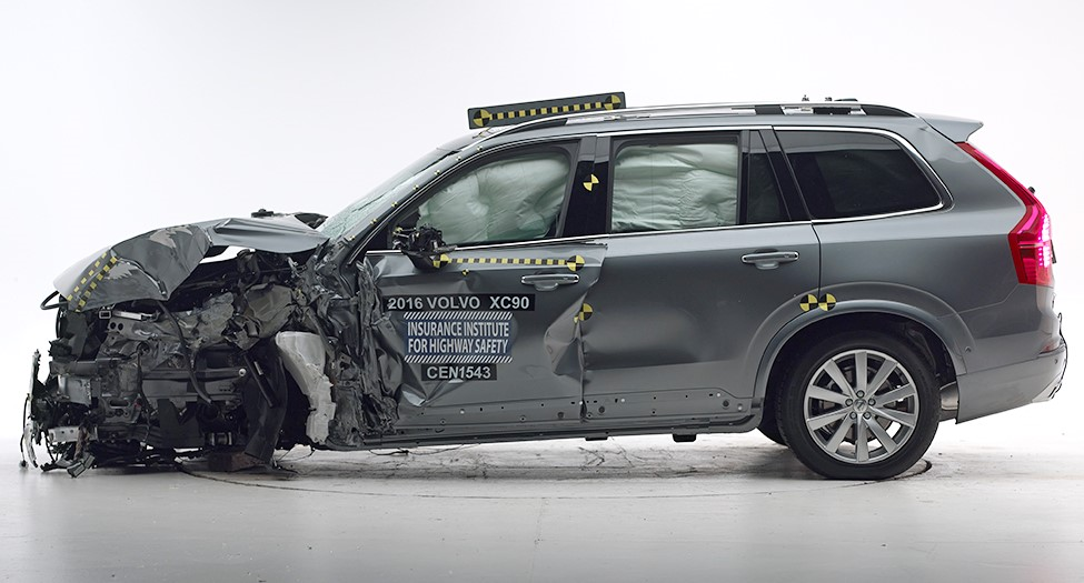XC90 IIHS Top Safety Pick+