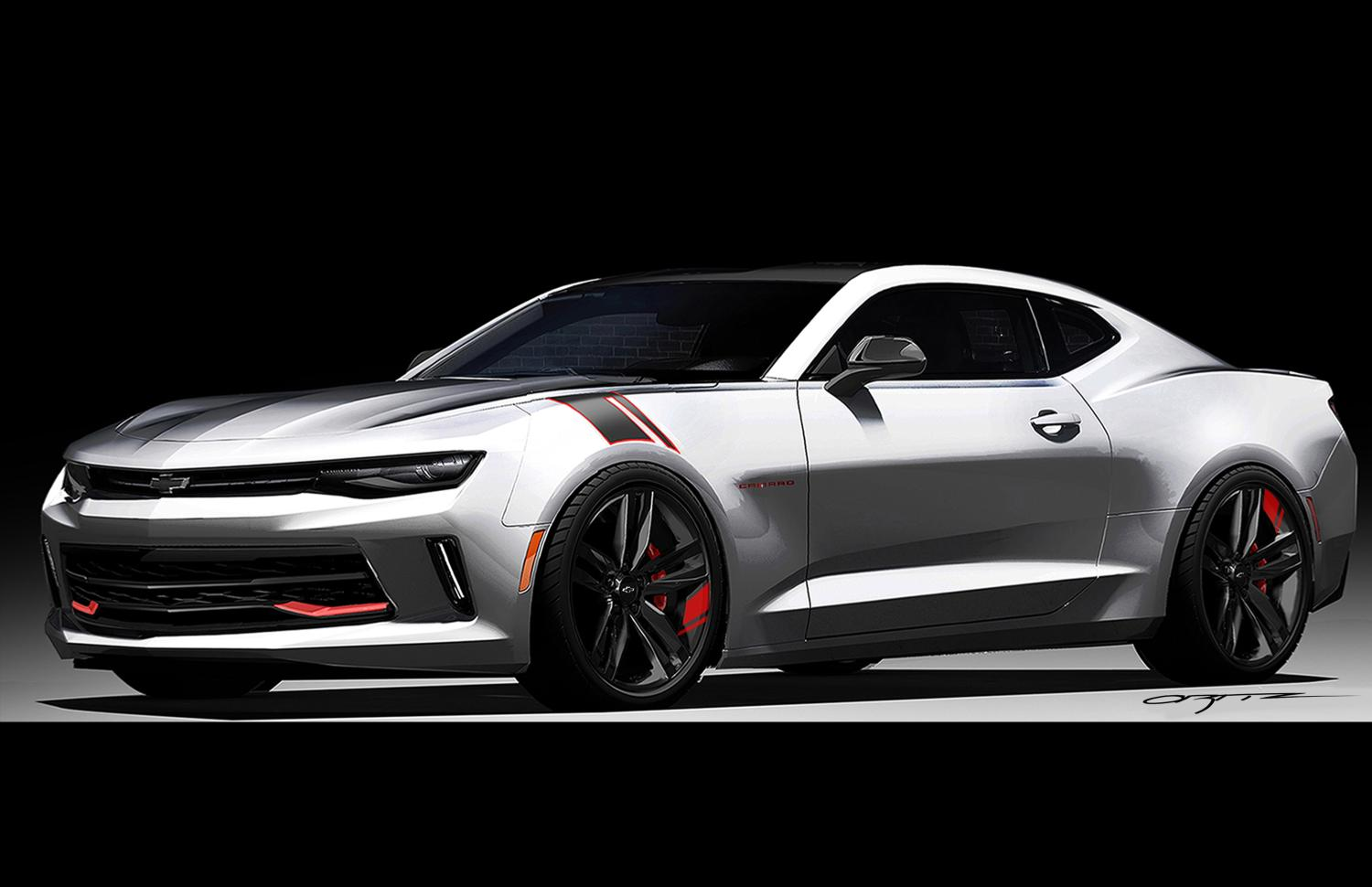 chevy charging into sema with red line concepts autotalk. Black Bedroom Furniture Sets. Home Design Ideas