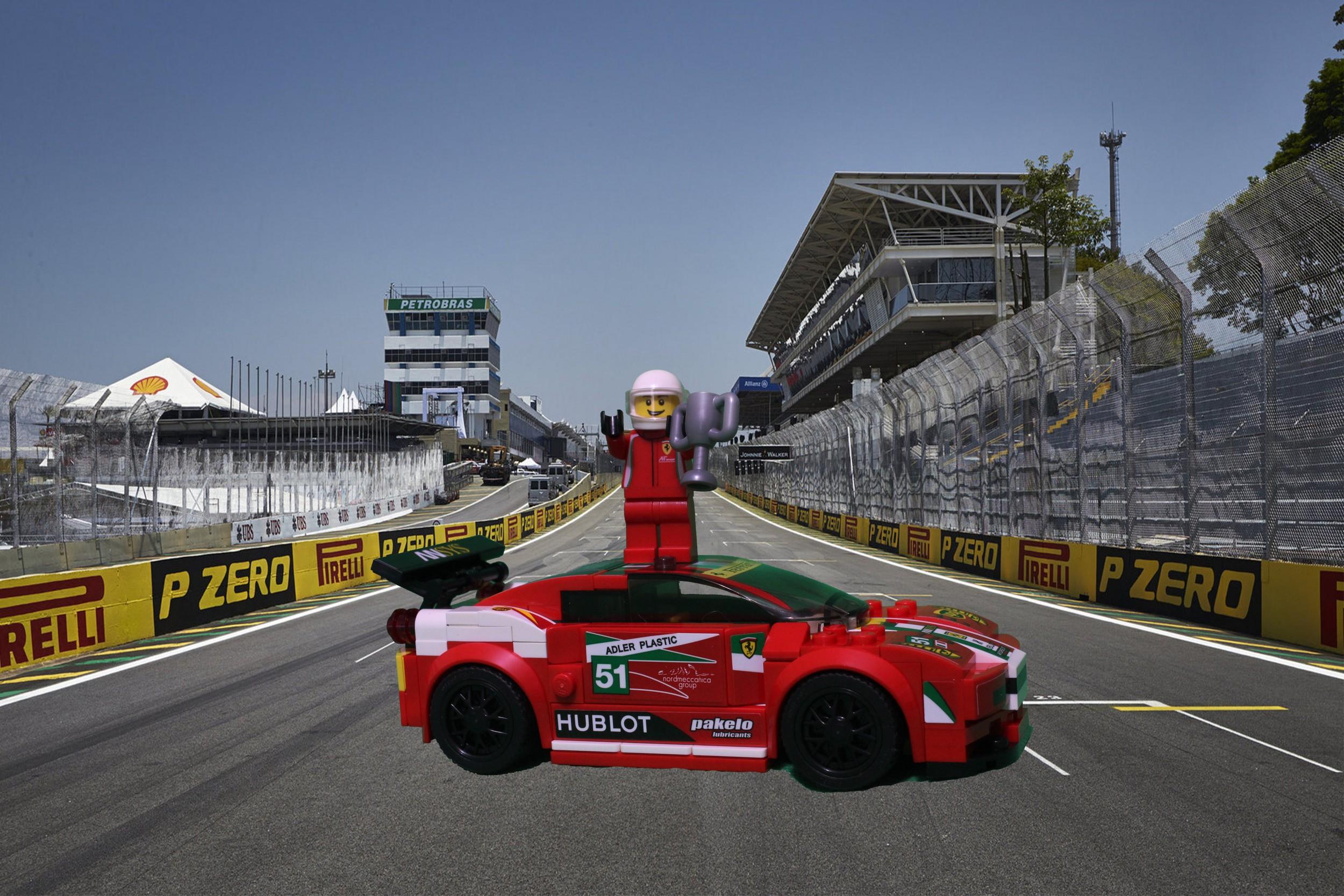 Lego Speed Build Saturday Ferrari 458 Italia Gt2 Autotalk