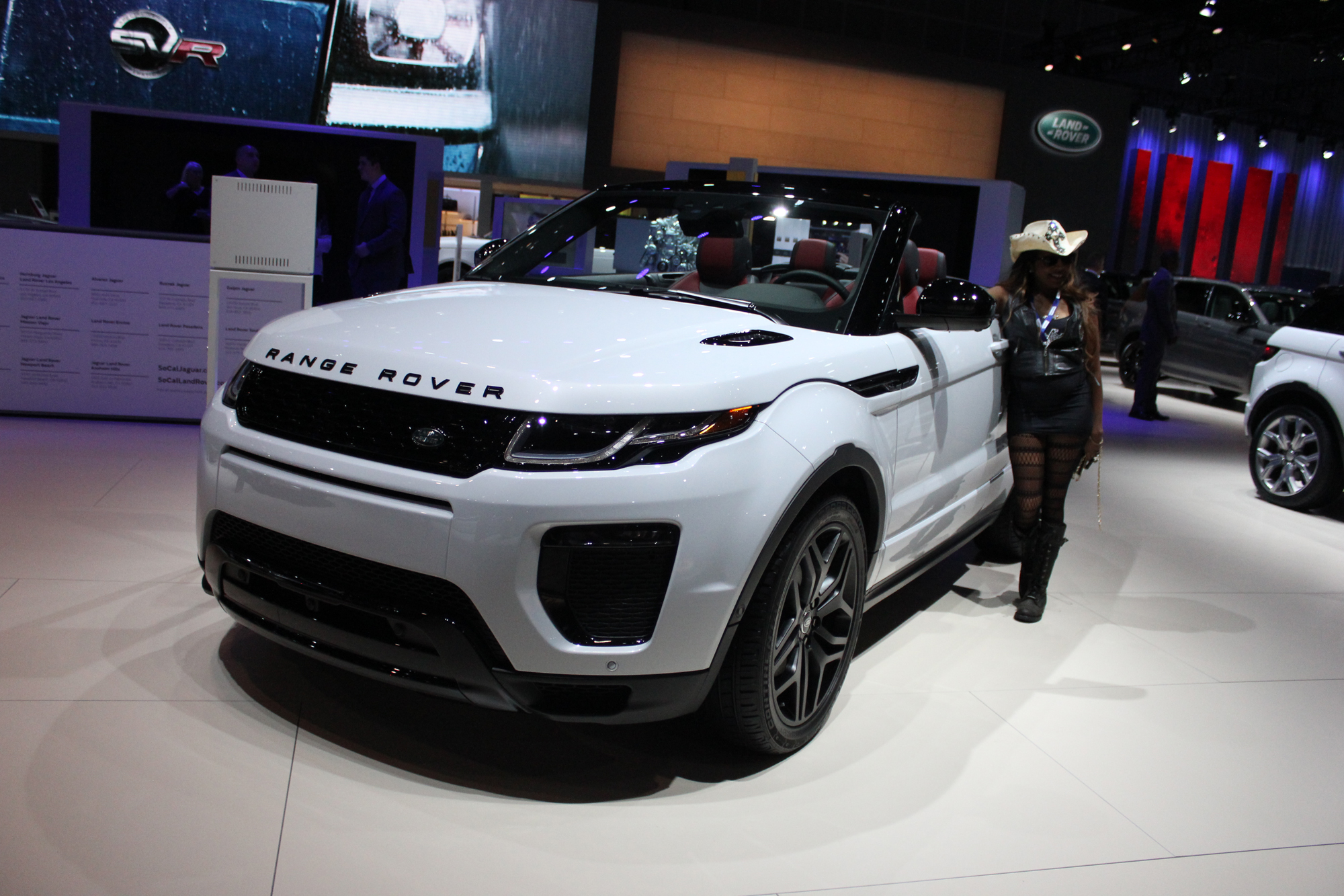 2017 La Auto Show Jaguar Land Rover 22