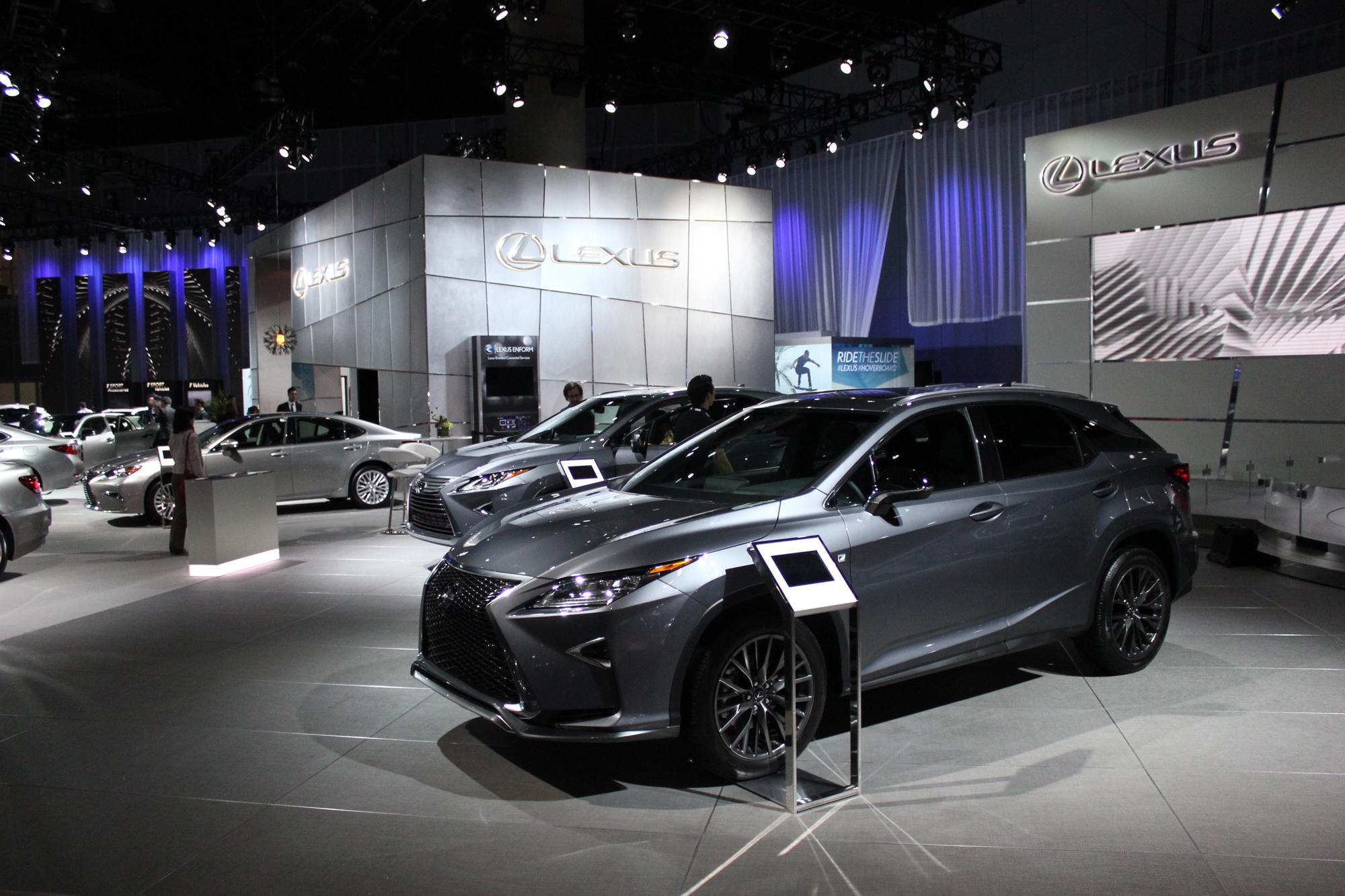 Gallery: 2015 LA Auto Show - Lexus • AutoTalk