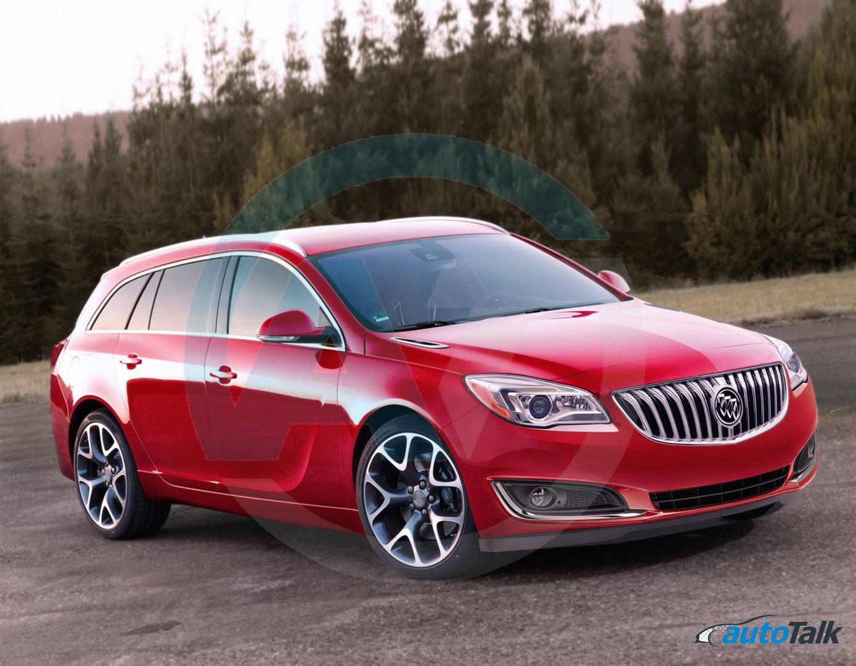 Exclusive Autotalk Renders Rumored Buick Regal Wagon