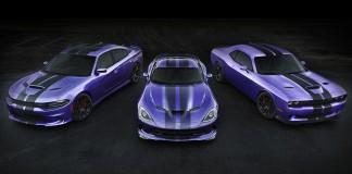 2016 Dodge Hellcats Exclusive Stripes, Plum Crazy Paint