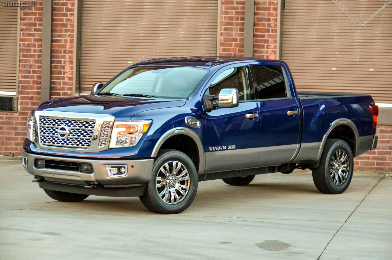 2016 nissan titan xd is truck of the year autotalk. Black Bedroom Furniture Sets. Home Design Ideas