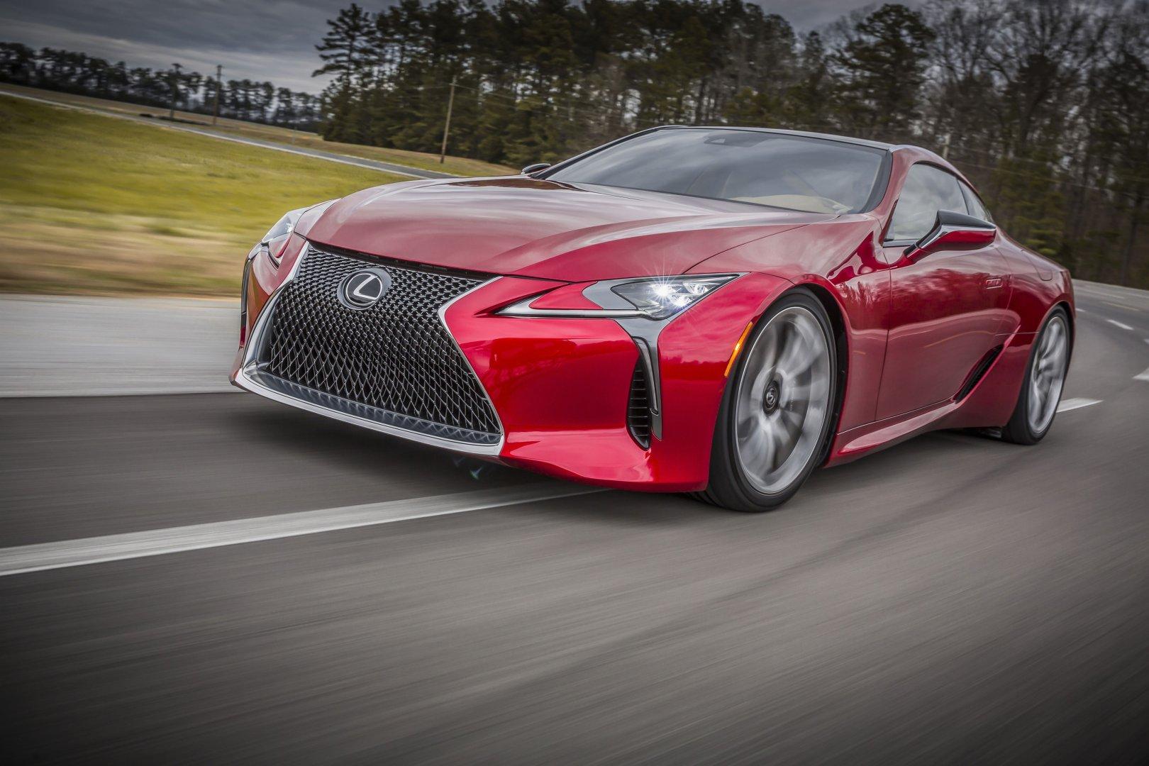 Lexus Brings 2017 LC 500 to 2016 Detroit Auto Show • AutoTalk