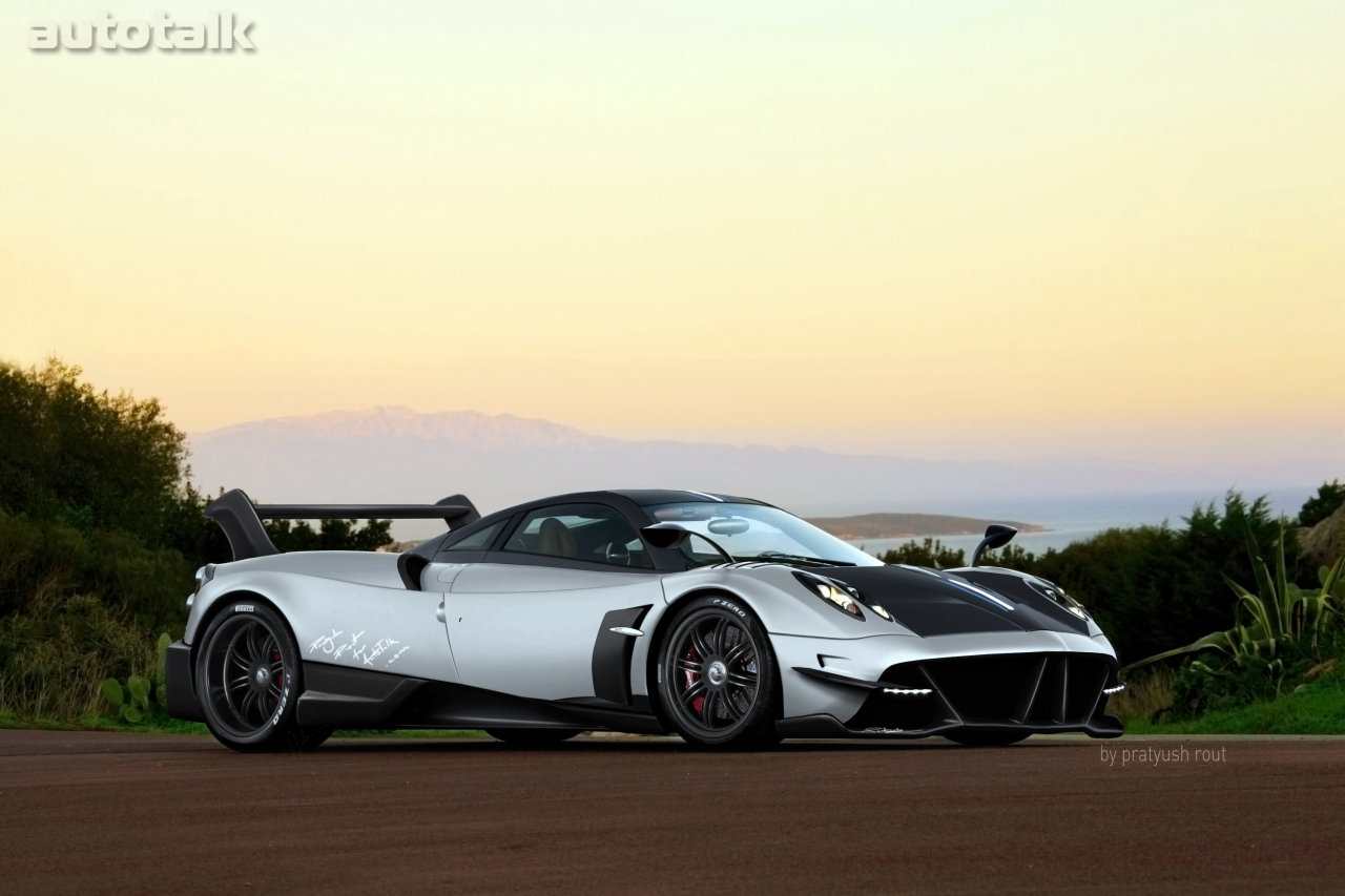AutoTalk Renders The New Pagani Huayra BC • AutoTalk