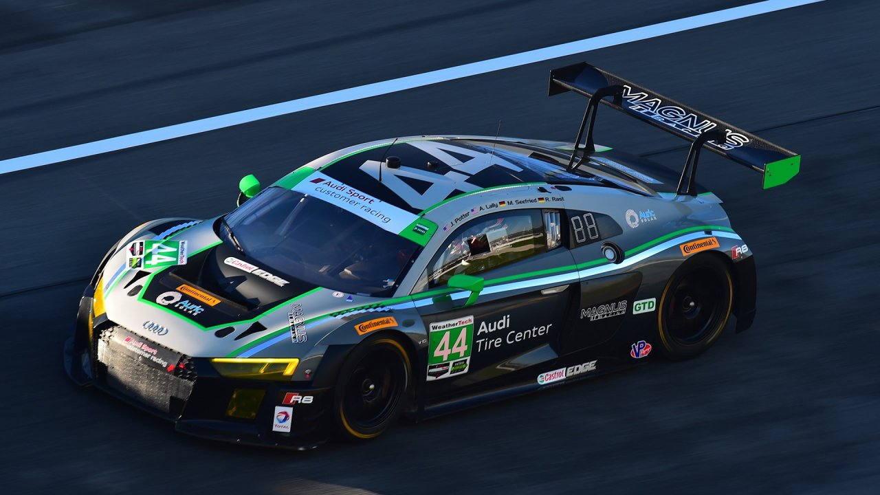 The Audi R8 LMS wins the 2016 Rolex 24 At Daytona in its US race debut • AutoTalk