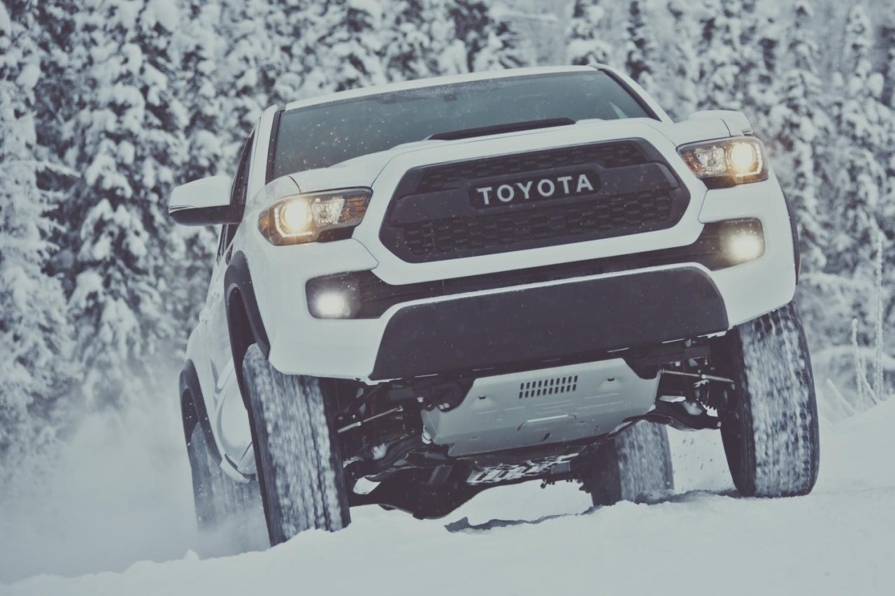 Toyota reveals rugged Tacoma TRD Pro