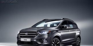 2017 Ford Kuga SUV Front