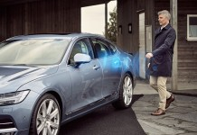 Volvo Cars' world first application for mobile phones