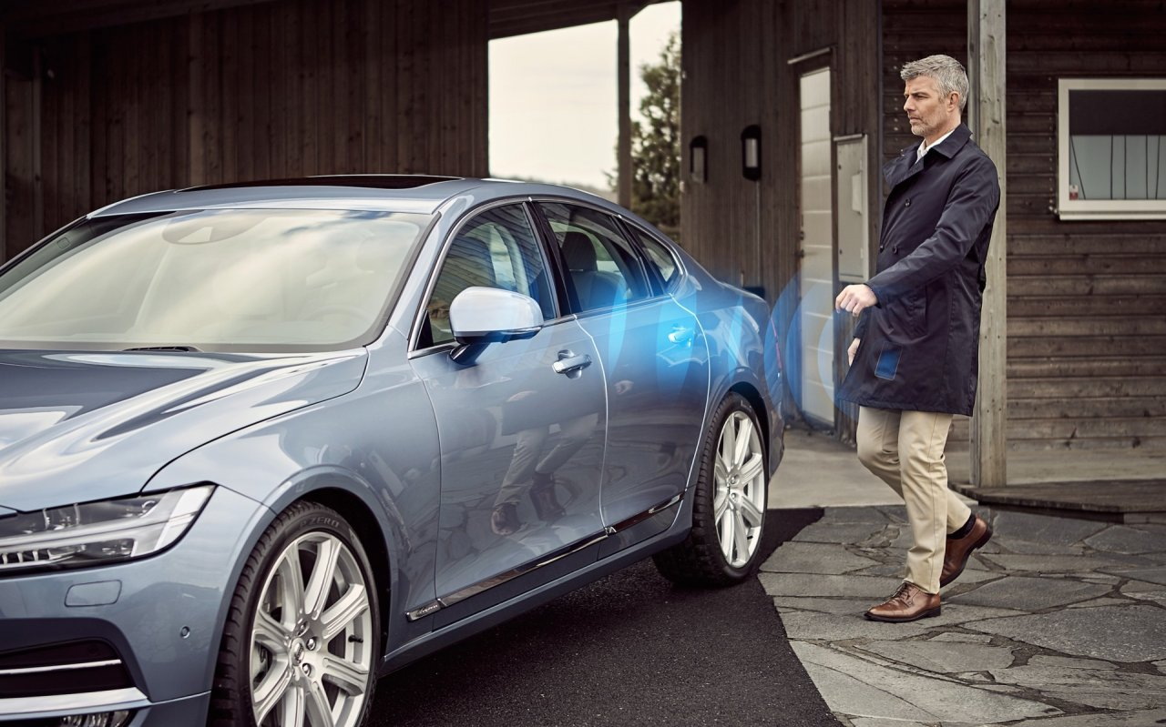 Volvo Cars Launches A Car Without A Key • AutoTalk