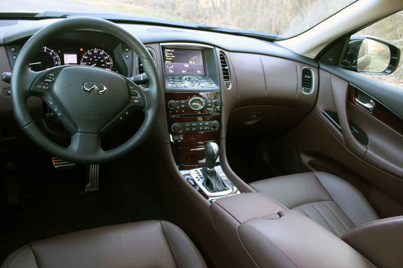 new arizona and features info cabin review infiniti reviews with leather black wood phoenix infinity front accents