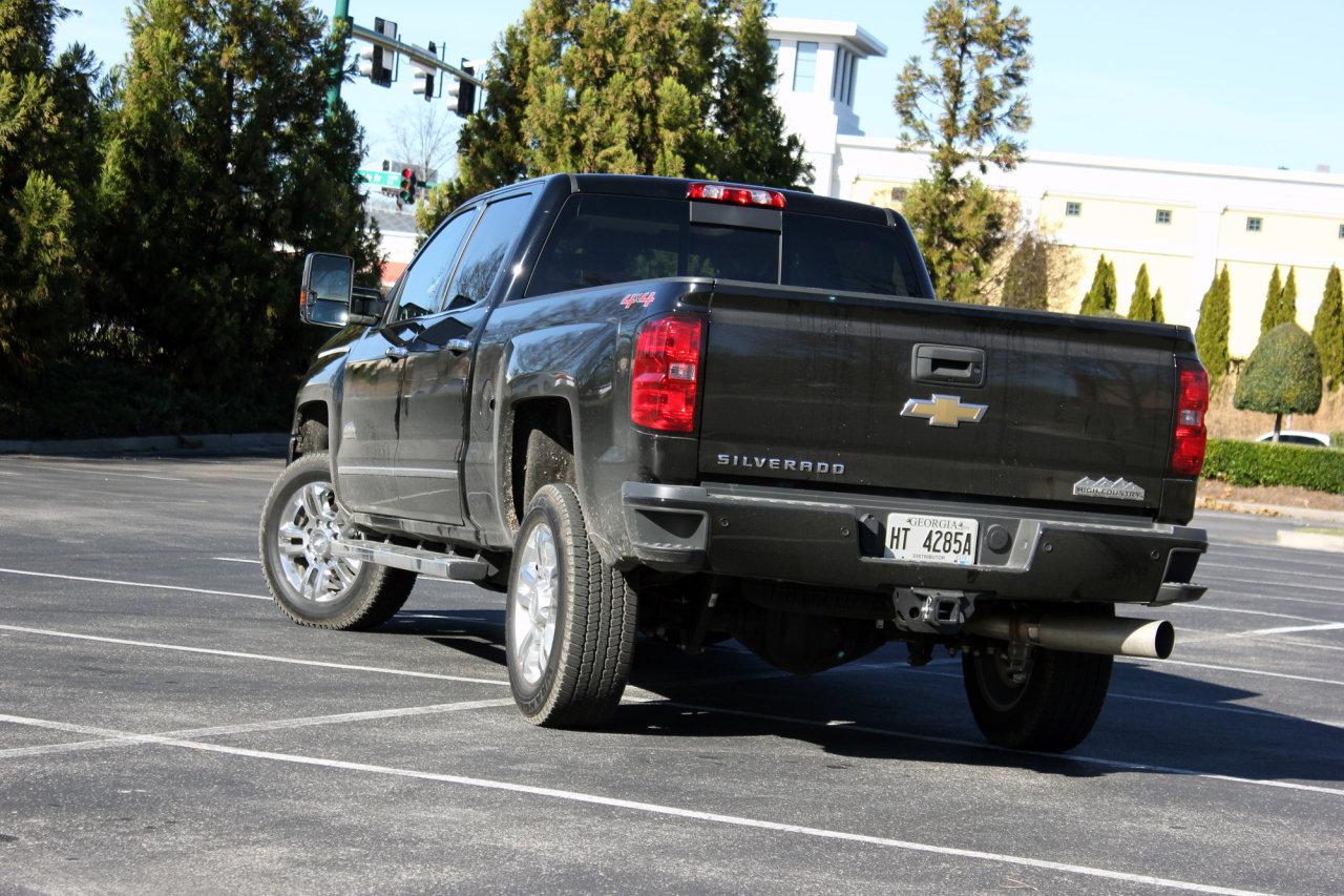 2016 Chevrolet Silverado 2500 Hd High Country Review Autotalk
