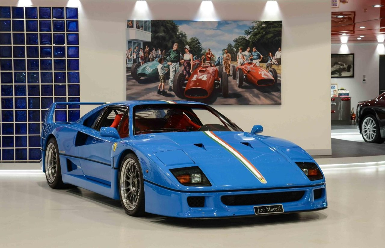 Ferrari F40 For Sale >> There Is An Incredible Blue F40 For Sale In London Autotalk