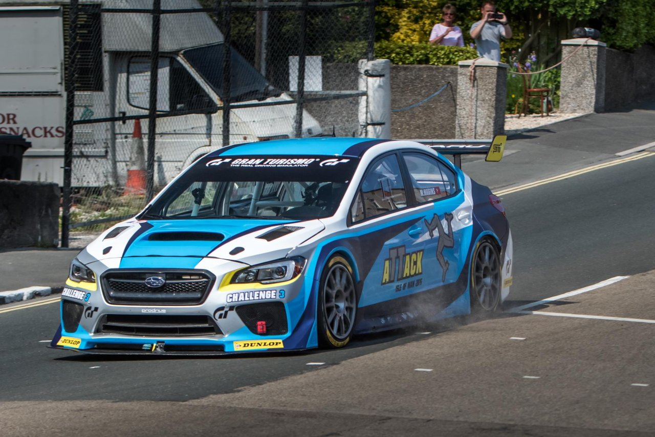 mark higgins and subaru just shattered the isle of man tt record